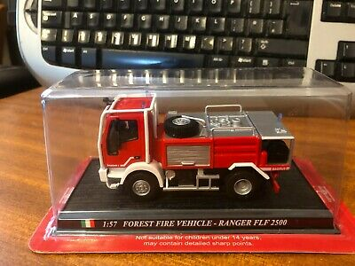 £10.49 • Buy Del Prado Fire Engines 1/57 Scale Forest Fire Vehicle - Ranger FLF2500 - Blister
