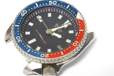 $ CDN137.27 • Buy Seiko Diver 7002-700A Singapore Automatic Watch For Repairs Or For Parts  -13162