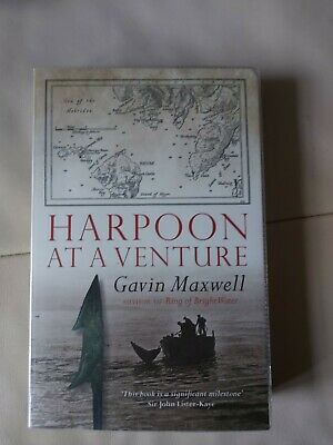 £5.99 • Buy Harpoon At A Venture By Gavin Maxwell Book The Cheap Fast Free Post