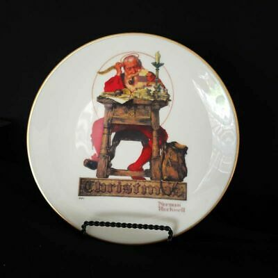 $ CDN17.89 • Buy Norman Rockwell Letter To Santa Gorham 1980 Annual Collector Christmas Plate