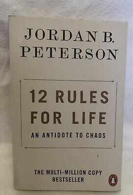 AU17.95 • Buy 12 Rules For Life: An Antidote To Chaos By Jordan B. Peterson (Paperback, 2019)