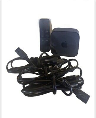 AU135.15 • Buy Apple TV (4th Generation) 32GB HD Media Streamer - Black, Model A1625 W/Remote