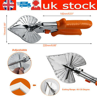 £12.44 • Buy Multi Angle Cutter Mitre Shears Gasket Cutter Trim Bead Snips Steel Blade Tools