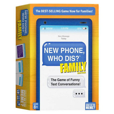 AU39.95 • Buy New Phone Who Dis? Family Edition