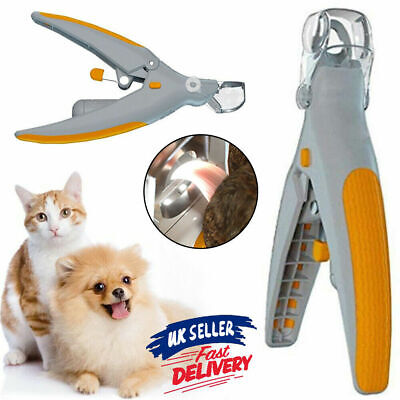 £5.99 • Buy Toe LED Light Nail Clippers Cutter Trimmer Pet Dog Cat Claws 5X Magnification UK