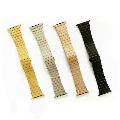 $ CDN19.58 • Buy Stainless Steel Strap Metal IWatch Band For Apple Watch Series 6 5 4 3 2 38-44mm