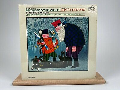 £25.55 • Buy Peter And The Wolf Narrated By Lorne Greene (Bonanza) LP Vinyl Record SEALED