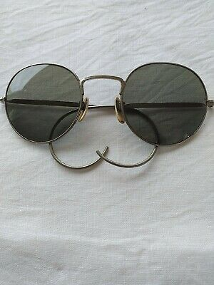 £38 • Buy Vintage 1940s Wire Frame Sunglasses