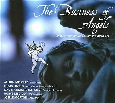 $ CDN20.69 • Buy Alison Melville : Business Of Angels: English Recorder Music Sturart Classical