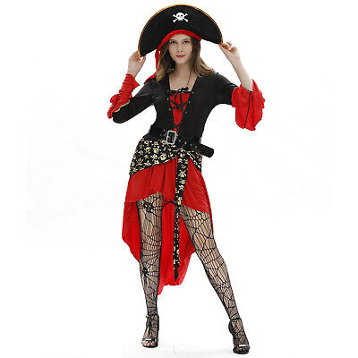 $ CDN35.77 • Buy Halloween Sexy Female Pirate Costume Cosplay Cosplay Uniform T3