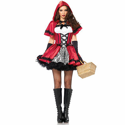 $ CDN30.65 • Buy Halloween Women'S Cosplay Little Red Riding Hood Costume Game Uniform T3