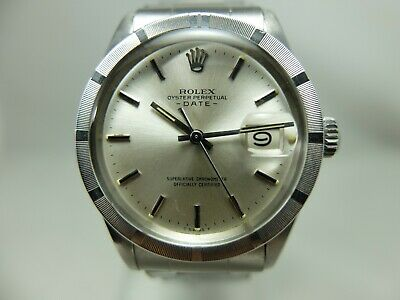 $ CDN4064.05 • Buy Rolex Vintage Stainless Oyster Perpetual Date 1501 On Oyster Rivet Bracelet