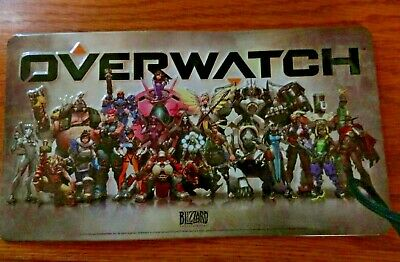 AU10.23 • Buy Overwatch Blizzard Metal Art License Plate - Best Buy Preorder