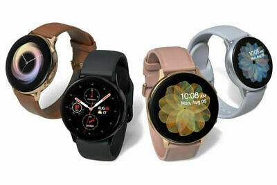 $99.99 • Buy Samsung Galaxy Watch Active 2 SM-R835 40mm 44mm Steel Case With Black Gold A