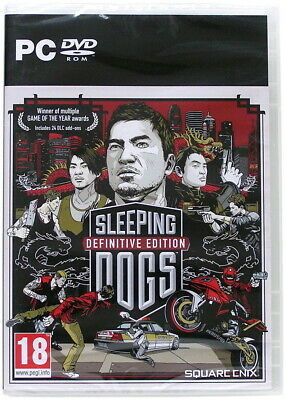 £29.81 • Buy Sleeping Dogs - Definitive Edition - PC DVD Game - New & Sealed