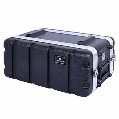 AU235.75 • Buy Crossrock Stackable 4U Rack Case Strong Molded With Heavy Duty Hardware Shall...