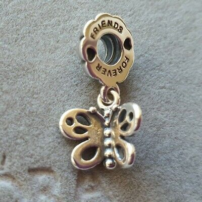 AU29 • Buy Authentic Retired Pandora Butterfly Friends Forever Dangle Charm - #790531