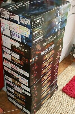 £5.99 • Buy Warhammer Empty Boxes - Display Or Organisation USED