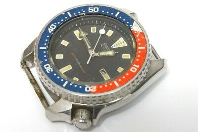 $ CDN70.40 • Buy Seiko Medium Diver 4205-015T Automatic Watch For Rpairs Or For Parts     -13222