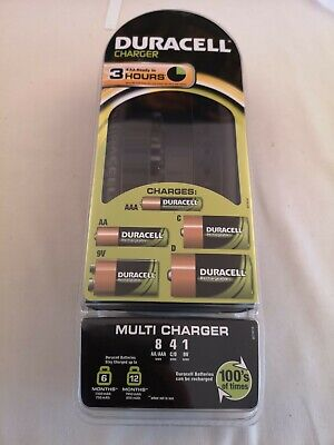 £23 • Buy Duracell CEF22 UK Multi Charger For AA AAA C D 9V Rechargeable Battery