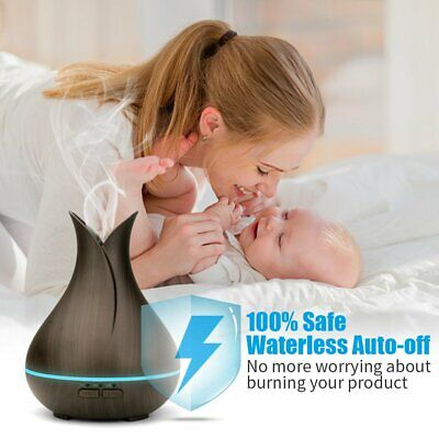 AU19.99 • Buy Aroma Essential Oil Diffuser Air Purifier LED Ultrasonic Aromatherapy Humidifier