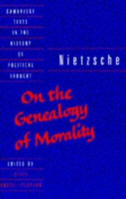 £3.70 • Buy Nietzsche : On The Genealogy Of Morality And Other Writings