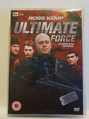 £5.89 • Buy Ultimate Force - Complete Series (DVD, 2008, 8-Disc Set, Box Set)