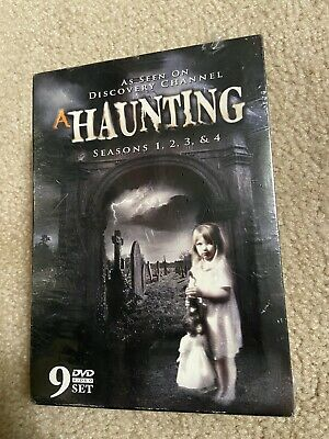 £42.44 • Buy NEW! A Haunting Seasons 1-4 DVD Discovery Channel 9-Disc Boxed BOX SET