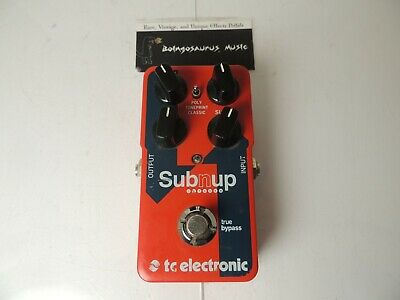 $ CDN145.18 • Buy TC Electronics Sub 'N Up Octave Effects Pedal Guitar Free USA Ship
