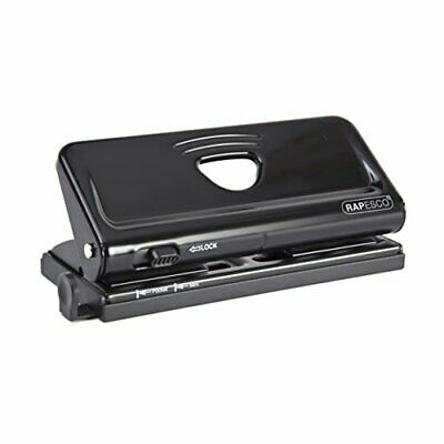 AU35.37 • Buy Rapesco Adjustable 6-Hole Punch For Planners And 6-Ring Binders - Black 1 1342