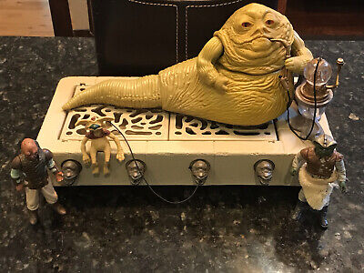 $ CDN181.49 • Buy Star Wars Vintage Jabba The Hutt Playset, 1983 Complete & Original +Figures 🔥🔥
