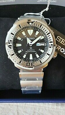 $ CDN598.93 • Buy New SEIKO Prospex SRP637K1 Diver's Baby Tuna Monster Silver 4R36-03Z0 Watch 200m