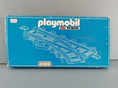 £14.95 • Buy Playmobil RC Train Track Theme 4389 Right Hand Switch Track + Box