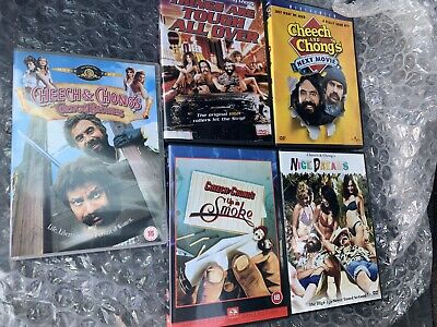 £38 • Buy Cheech And Chong Dvd Lot Collection Up In Smoke Nice Dreams Next Movie Etc