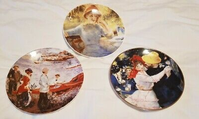 £15 • Buy Set Of Renoir Collectors Plates Royal Staffordshire, Ready To Hang