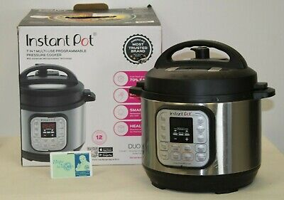 $ CDN12.09 • Buy Instant Pot Duo Mini 3 Quart 7-in-1 Programmable Pressure Cooker - Stainless