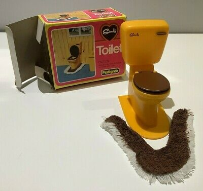 £17.99 • Buy Vintage Pedigree Boxed Sindy 44551 Toilet With Accessories (Complete)