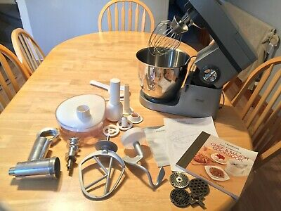 £169 • Buy Kenwood Chef Major - KM800 - Food Mixer - Meat Grinder & Manuals - Barely Used