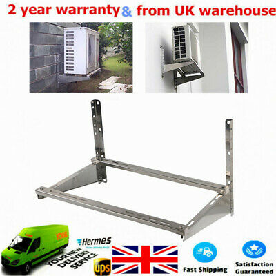 £42 • Buy Air Conditioner Wall Bracket Holder 74cm Lenth Unit Mount Heavy Duty Stainless