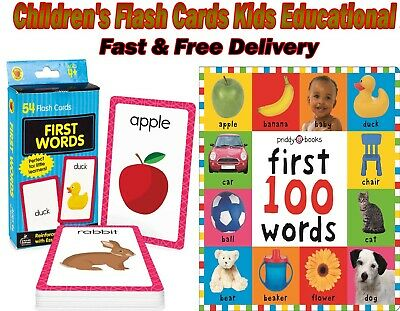 £4.24 • Buy Children's Flash Cards Kids Educational Pre School Learning Brighter Child Gift