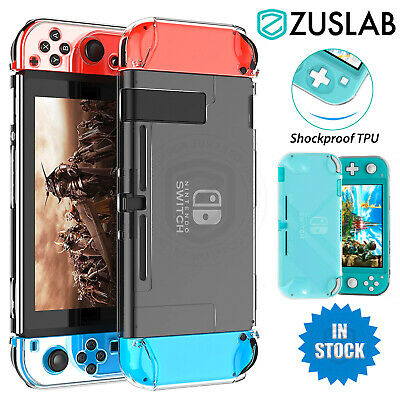 AU9.95 • Buy For Nintendo Switch Lite Case Zuslab Slim Clear Soft Shockproof Protective Cover