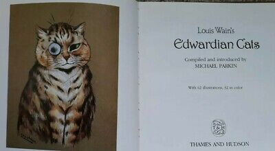 £6.50 • Buy Louis Wain's Edwardian Cats - Michael Parkin. A High Quality Illustrated HB Book