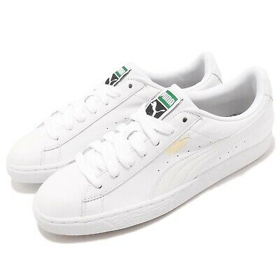 AU173 • Buy Puma Basket Classic LFS White Leather Mens Casual Shoes Trainers 354367-17