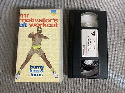 £4 • Buy Mr Motivator's BLT Workout Bums Legs And Tums VHS Video Tape