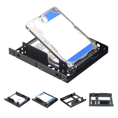 AU6.69 • Buy 2.5 Inch To 3.5 Inch SSD Solid Hard Drive Bay Tray Mounting Bracket Adapter YU
