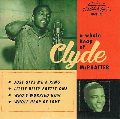 £9.99 • Buy CLYDE McPHATTER - LITTLE BITTY PRETTY ONE / JUST GIVE ME A RING + 2 Vinyl EP