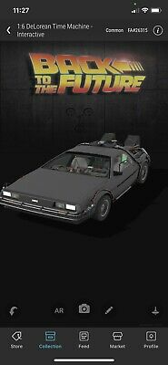 $100 • Buy 🔥 VEVE NFT Back To The Future 1:6 Delorean Time Machine INTERACTIVE- #24595