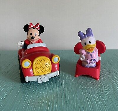 £14.48 • Buy Little People Magic Of Disney Waving Mickey Mouse Car Minnie Daisy Figures Chair