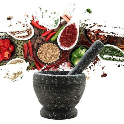 £4.72 • Buy Herbs Grinder Stone Mortar Bowl Pestle Spice Crusher Grinding  Mixing