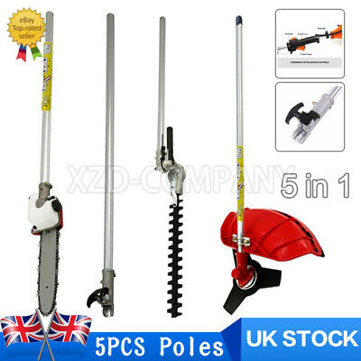 £62.99 • Buy Garden 5 In 1 Multi Tool Strimmer Hedge Trimmer Tool (ONLY POLE) !!!